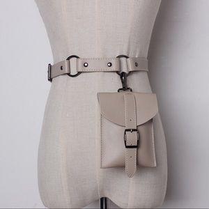Handbags - PU leather waist bag